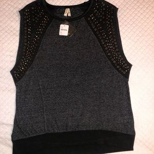 Free people muscle tee top